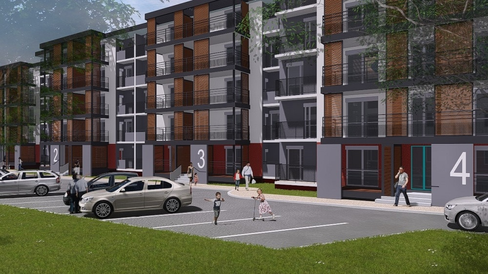 Réhabilitation de 92 logements (3 bâtiments)